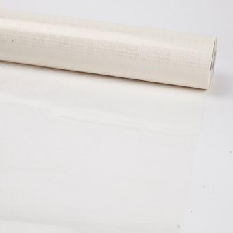 Printed Film Roll Hessian - White - 38 micron - 80cm x 100m