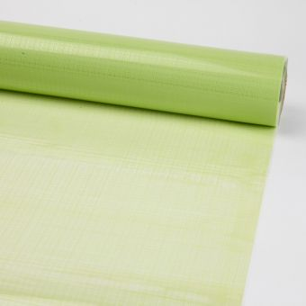 Printed Film Roll Hessian - Apple Green  - 38 micron - 80cm x 100m