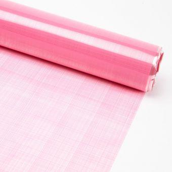 Printed Film Roll Hessian - Pale Pink - 38 micron - 80cm x 100m