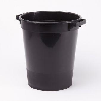 Flower Bucket - Black - 28cm x 32cm