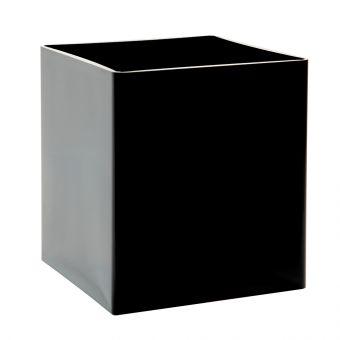 Acrylic Cube - Black - 15 x 15 x 15cm