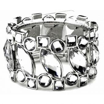Splendid Times Corsage Bracelet - Silver