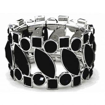 Splendid Times Corsage Bracelet - Black