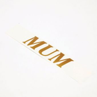 Vinyl Letters - MUM (Pack of 4)