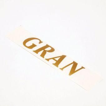 Vinyl Letters - GRAN (Pack of 4 )