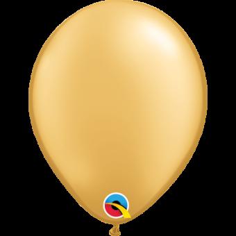 """Plain Gold 5"""" Balloon"""