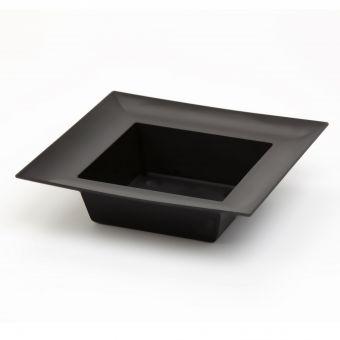 Designer Black Square Bowl