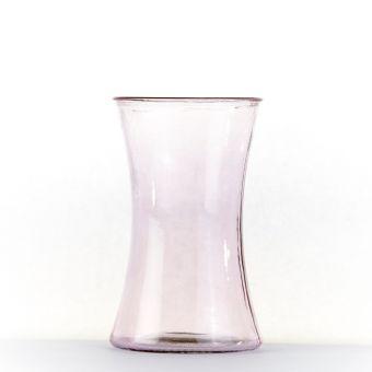 Serena Handtied Vase - Pink - 20cm x 12.5cm