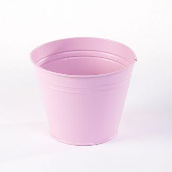 Matisse Tin Pot (Lined) - Pink - 15cm x 15cm x 12cm