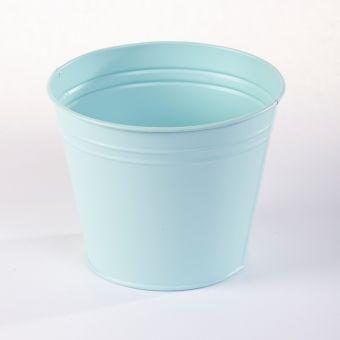 Matisse Tin Pot (Lined) - Mint - 17cm x 17cm x 14cm