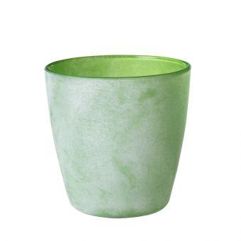 Frosty Teshio Votive Green 11.5cm