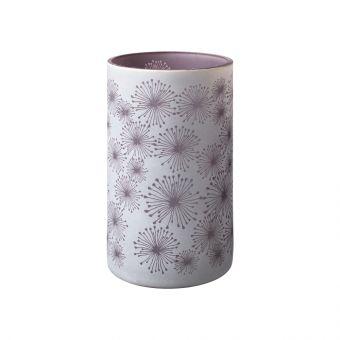 Allium Lilac Glass Votive 20cm