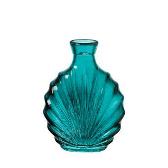 Harper Turquoise Glass Bottle