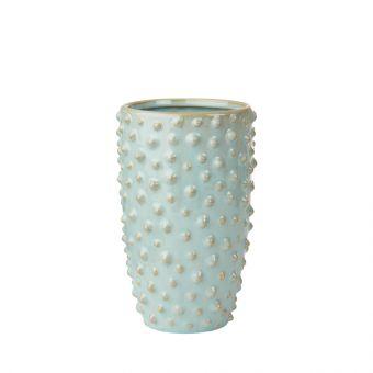 Madelyn Green Ceramic Vase 20cm