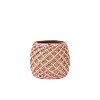 Sisal Pink Eden Pot 11cm
