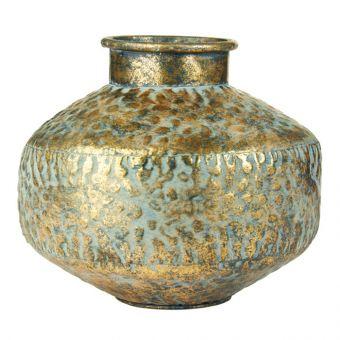 Batak Vase - Gold - 21cm