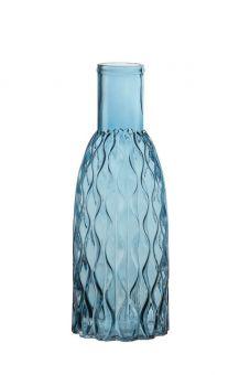 Aral Bottle Vase - Blue - 37cm