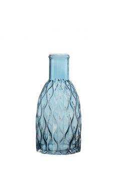 Aral Bottle Vase - Blue - 29cm