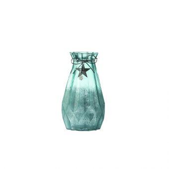 Lantan Vase - Blue - 18cm