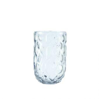 Glacier Vase - Clear - 20cm