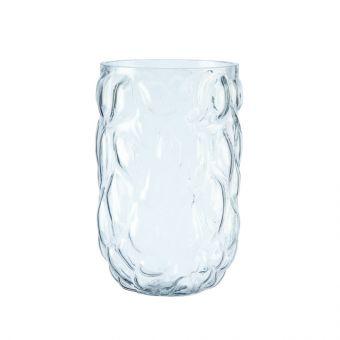 Glacier Vase - Clear - 25cm