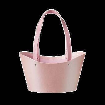 Napier Lined Basket - Pink
