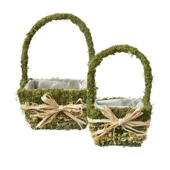 Moana Lined Baskets - Square