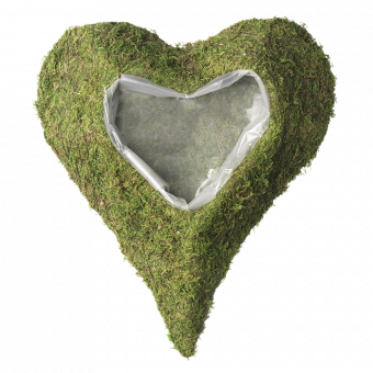 Wetlands Lined Heart - Large