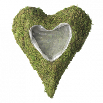 Wetlands Lined Heart - Small