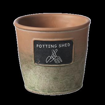 Potting Shed Pot - 12cm