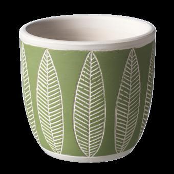 Fernside Leaf Pot - 10cm