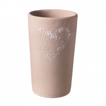 Amour Heart Vase - 21cm