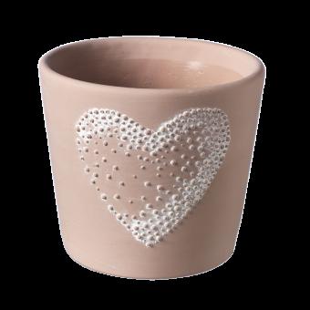 Amour Heart Pot - 15.5cm