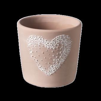 Amour Heart Pot - 13cm