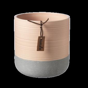 Evie Pot - Tropical Peach - 14.8cm