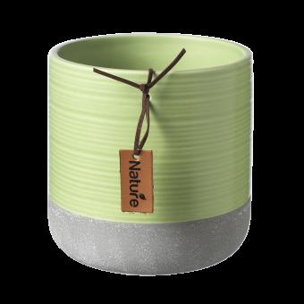 Evie Pot - Lettuce Green - 12.3cm