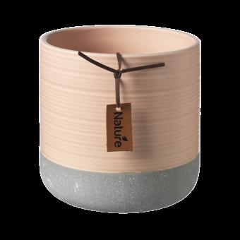 Evie Pot - Tropical Peach - 12.3cm