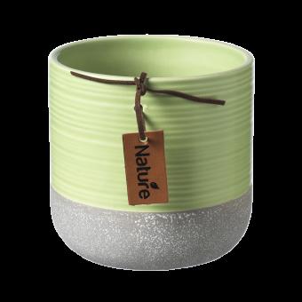 Evie Pot - Lettuce Green - 10cm