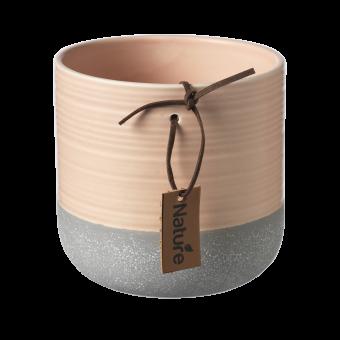 Evie Pot - Tropical Peach - 10cm