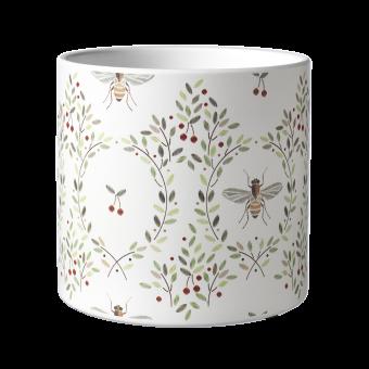 Honey Bee Pot - 15.5cm
