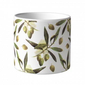 Olive Branch Pot - 12.5cm
