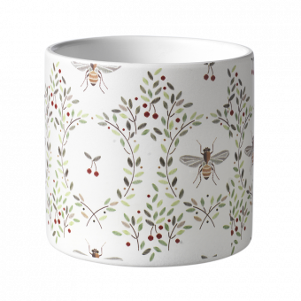 Honey Bee Pot - 12.5cm