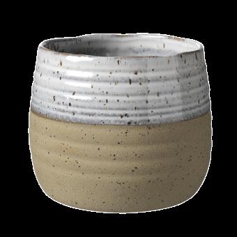 Fairfax Pot - Sand - 13.5cm