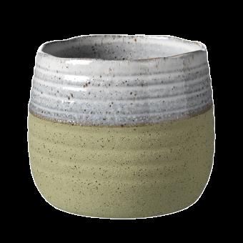 Fairfax Pot - Green - 13.5cm