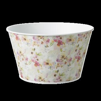 Fleurville Lined Tin Bowl - Ø:21cm