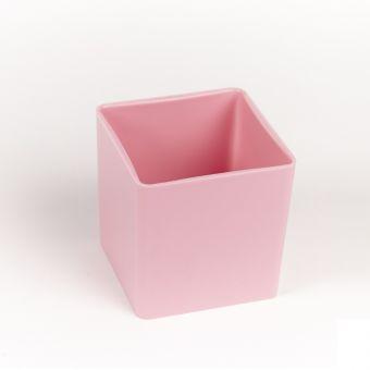 Acrylic Cube 10cm - Pink
