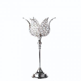 Casablanca Crystal Candle Holder - 44cm