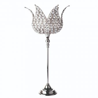 Casablanca Crystal Candle Holder - 58cm