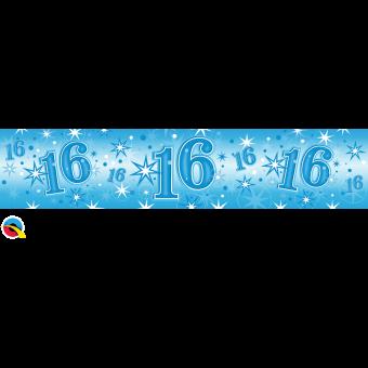 Blue Foil 16 Banner