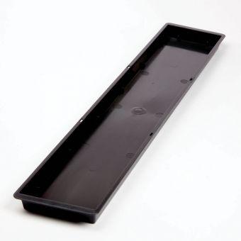 Triple Brick Tray - Black (Pack of 5)